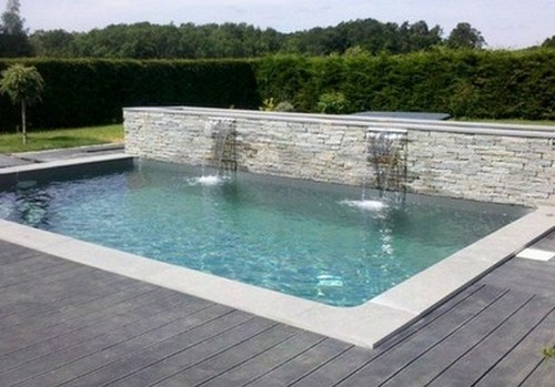 Beautiful piscine moderne pictures amazing house design - Piscine carrelage gris boulogne billancourt ...